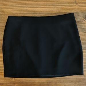 Express Black Miniskirt